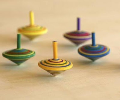 Hand Spinning Tops