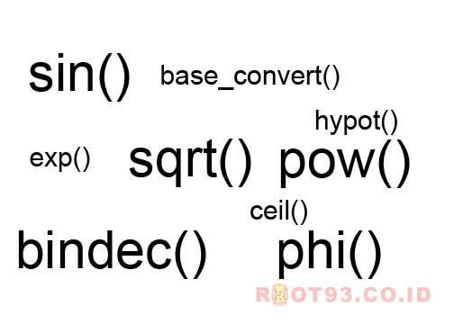 fungsi matematika di php