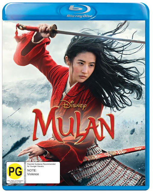 Win Mulan on Blu Ray