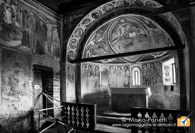 san Carlo Negrentino, abside maggiore