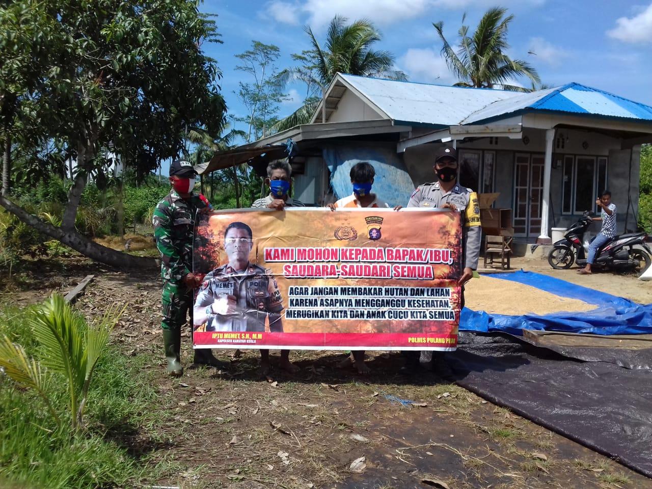 Brigadir Haikal Sampaikan Imbauan Pencegahan Karhutla ke Warga Binaan