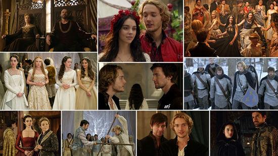 cenas da série reign