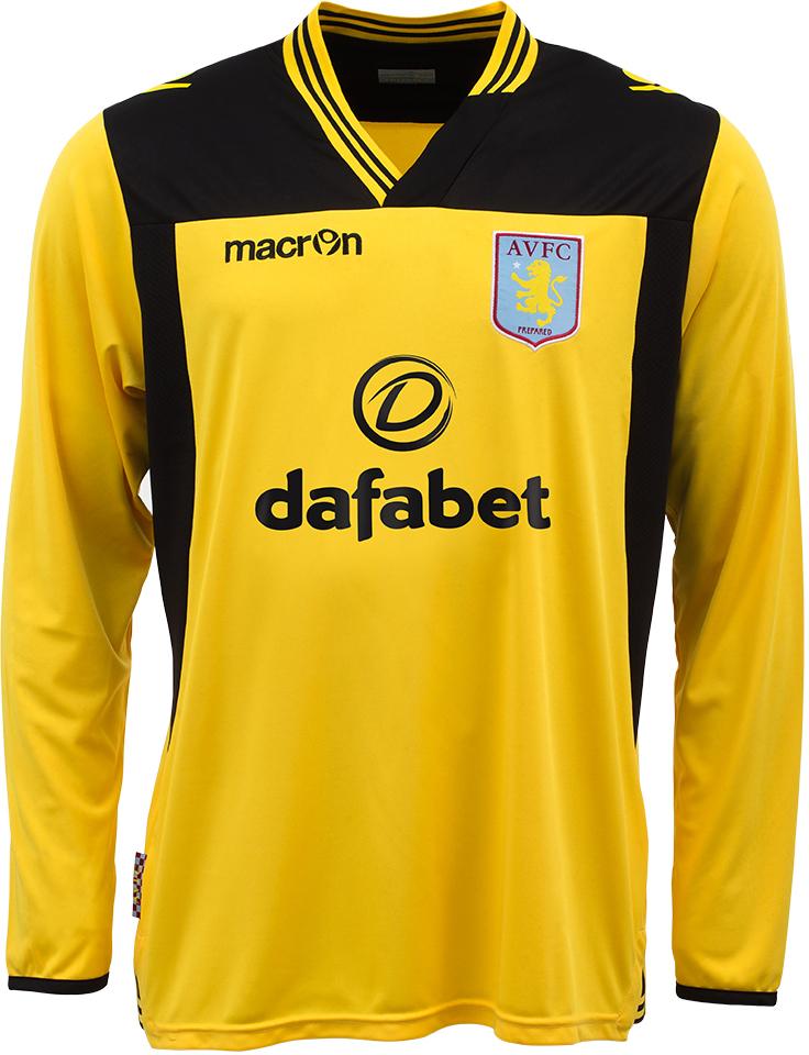 Aston Villa 13-14 (2013-14) Home, Away and Goalkeeper Kits ...