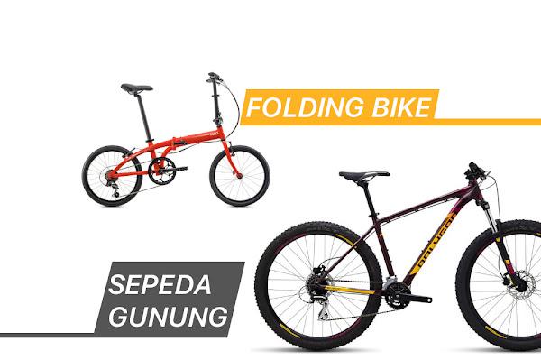 Pilih MTB Atau Sepeda Lipat Buat Harian