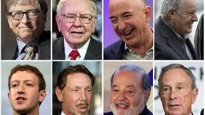 दुनिया के सबसे अमीर 25 व्यक्ति कोन है? The 25 richest people in The world.