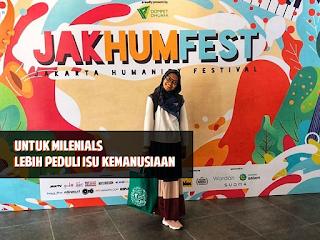Jakarta Humanity Festival, untuk Milenials Lebih Peduli Isu Kemanusiaan