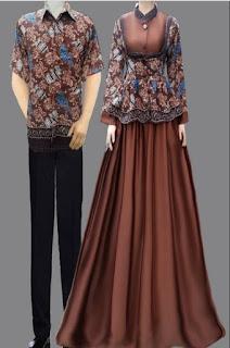 Gamis Kombinasi Batik Dan Kebaya