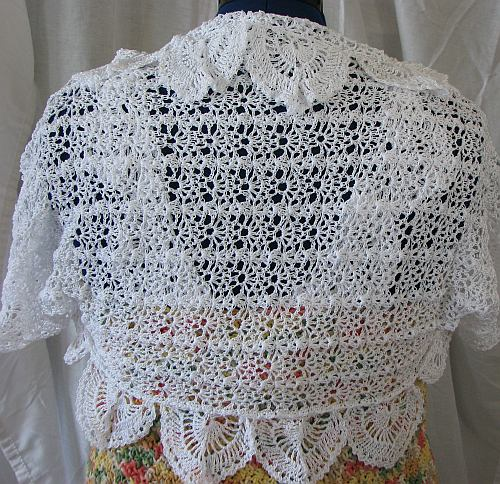 Donnas Crochet Designs Blog Of Free Patterns Free Top Lace Shrug