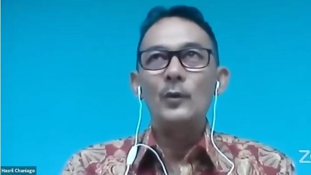 Hasril Chaniago Jelaskan soal 'Kakek Arteria Dahlan Pendiri PKI Sumbar'