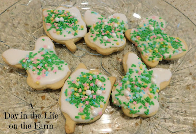 Spring Cut Out Cookies
