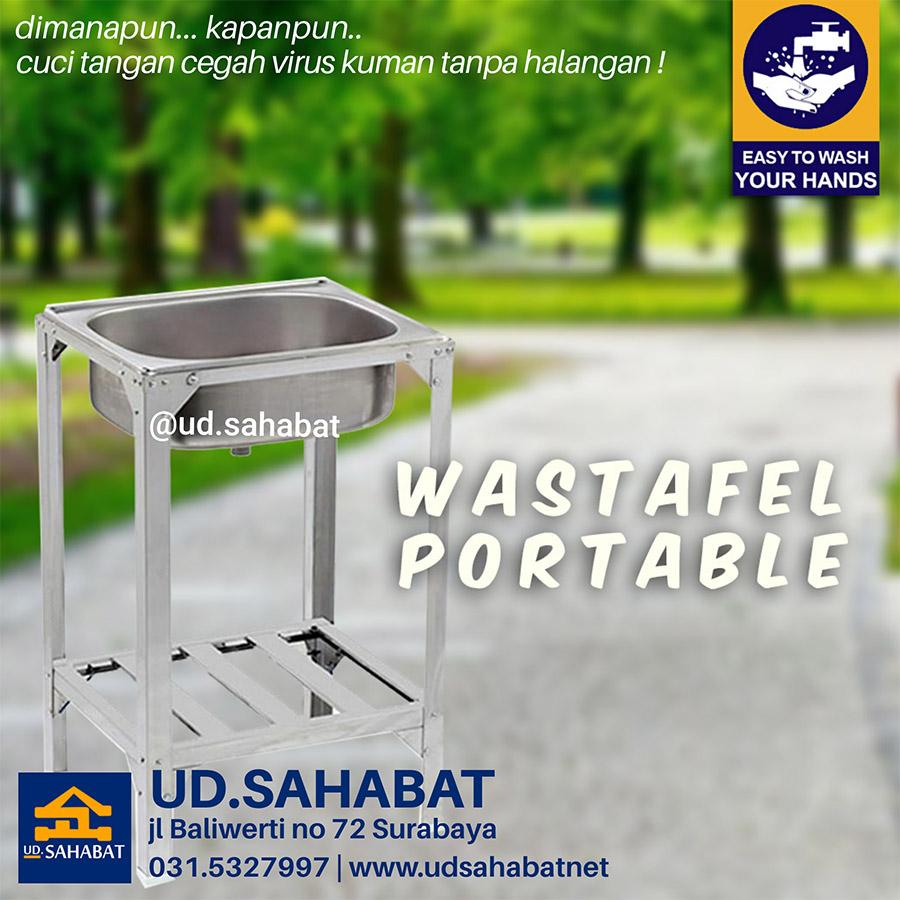 jual bak cuci wastafel portable surabaya
