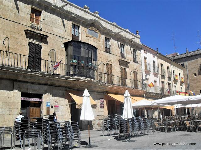 palacios en Ciudad Rodrigo