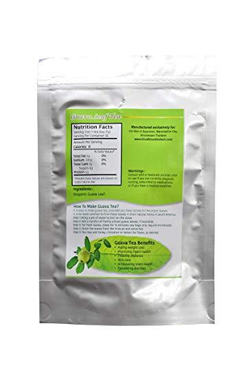 Guava Leaf Tea Back