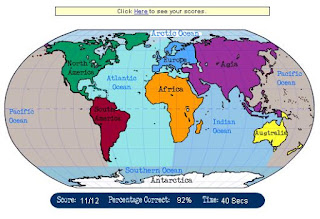 Science 3 de primaria continents oceans and cardinal points drag the continent or ocean to its location on the map gumiabroncs Image collections