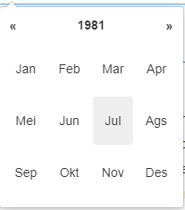 Datepicker 8