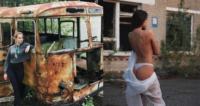Чернобыль видит всплеск туризма - и сексуальные селфи - на каблуках мини-сериала HBO Hit