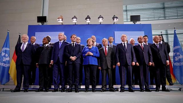 Διάσκεψη του Βερολίνου: Εκεχειρία στη Λιβύη… και ο Ερντογάν έχει κάθε λόγο να χαμογελάει