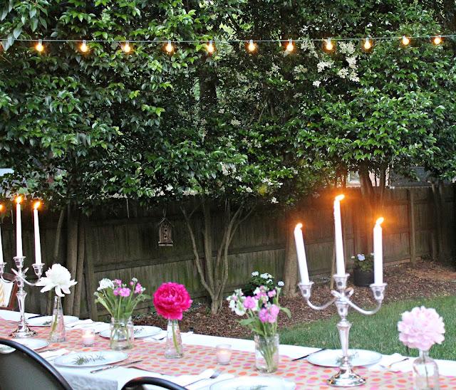 Carolina Charm: A Backyard Dinner Party