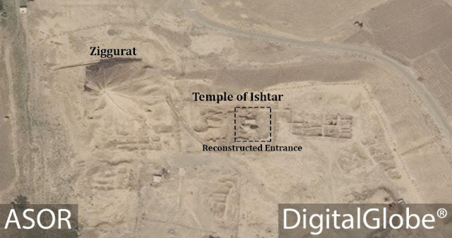 At Iraq's Nimrud, remnants of fabled city ISIS sought to destroy