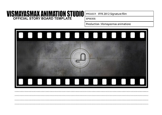 IFFK 2012 - Rejected Signature film's storyboard