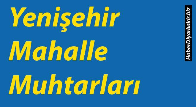 Diyarbakır Yenişehir Mahalle Muhtarları