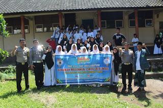 POLRES Lombok Timur Gandeng IPNU Gelar Sosialisasi Aturan Lalu Lintas