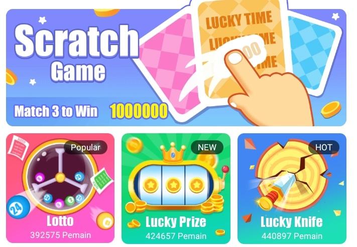 aplikasi lucky time