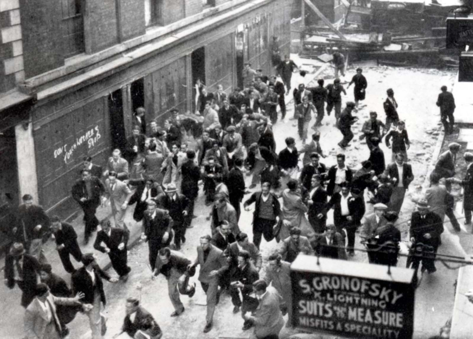 battle of cable street pictures