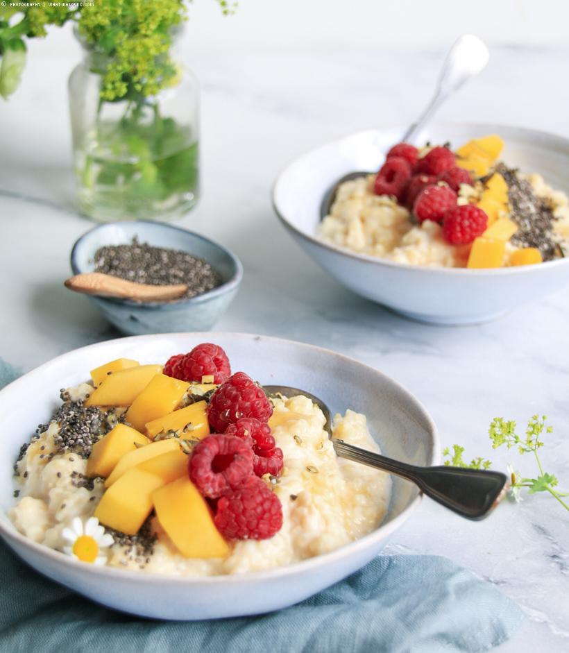 Frühstücks-Hirsebrei mit Früchten | whatinaloves.com