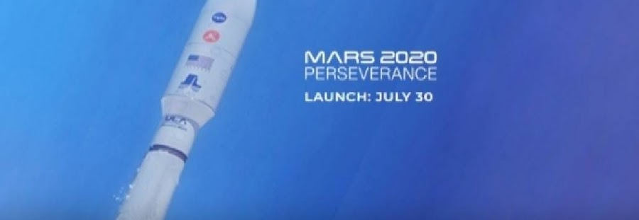 Join the team of NASA for the launch of its Mars 2020 Perseverance Rover mission