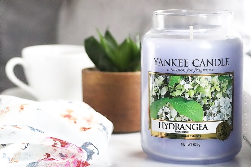 yankee candle hydrangea świeca zapachowa