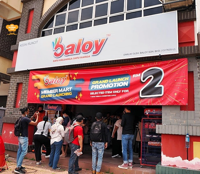 Baloy Member Mart New Outlet Kota Damansara