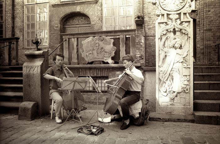 Gdansk, rue Mariacka, © L. Gigout, 1990