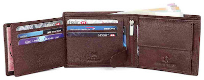 Leather Wallet more compartments