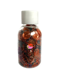 28 Lilac Lane - bead Sequin mix - trick or treat LL624