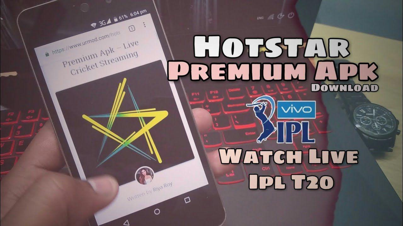 Hotstar MOD  Apk live Matches Unlock 🔓