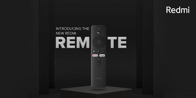 Redmi Smart TV Remote revealed - Comes with dedicated OTT Buttons, Voice Search and Android Like Navigation Buttons | TechNeg
