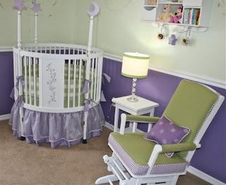 Habitación para bebé verde
