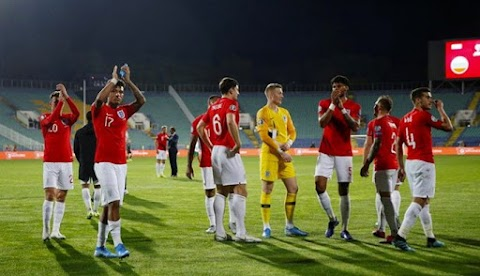 Euro 2020: England whip Bulgaria after game stopped over bigot misuse