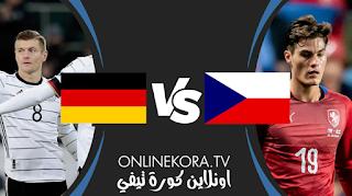 مشاهدة مباراة ألمانيا والتشيك بث مباشر اليوم 11-11-2020 في مباراة ودية