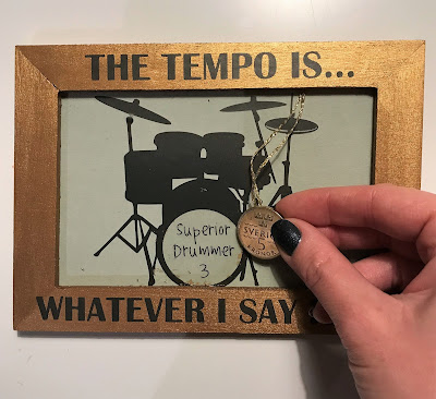Silhouette Scratch-off Sticker - skrapa presentkort