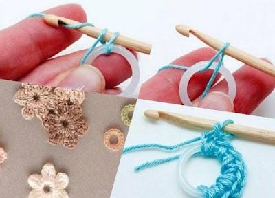 Técnica de la Anilla Tejida a Crochet