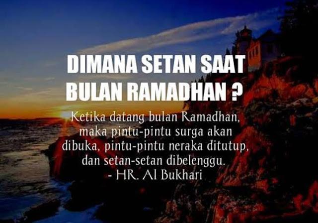 Benarkah Setan Dibelenggu Saat Bulan Ramadhan?