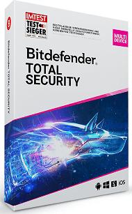 Bitdefender Total Security 2022 (boite)