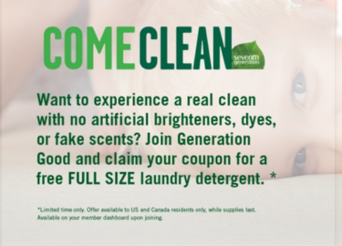 Seventh Generation Free Laundry Detergent