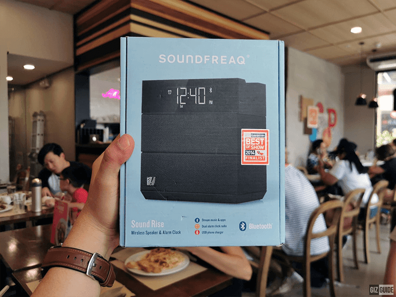 Raffle: SoundFreaq Sound Rise Bluetooth Wireless Speaker and Alarm Clock!