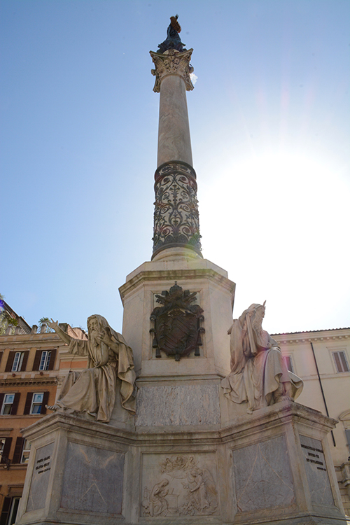 Column of the Immaculate Conception n Rome, Italy | My Darling Days