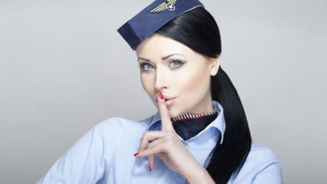 The stewardess who made $ 1,000,000 having sex during flight
