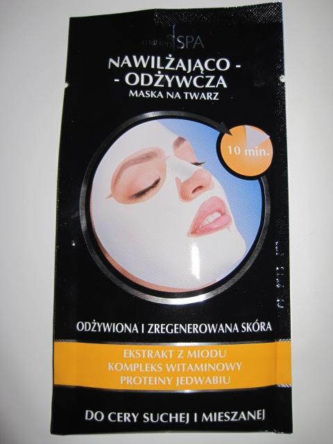 MarionSPA Nawilżająco-Odżywcza Maska Na Twarz