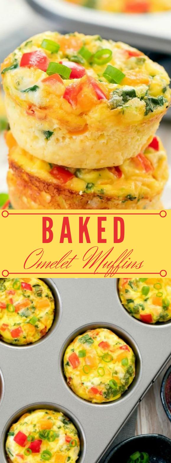 OMELET MUFFINS #omelet #healthy #diet #keto #paleo